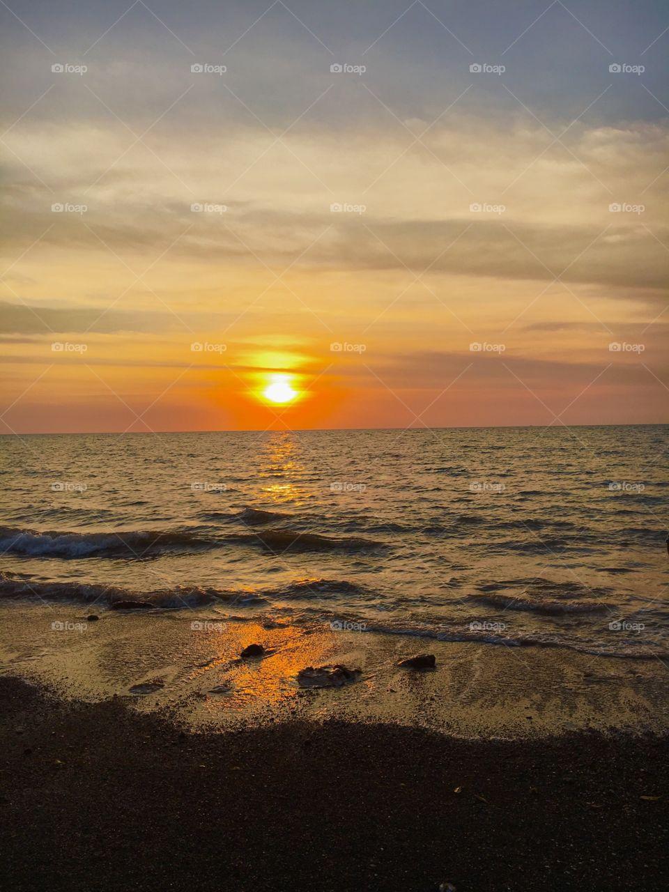 Nightcliff sunset, Darwin, Australia