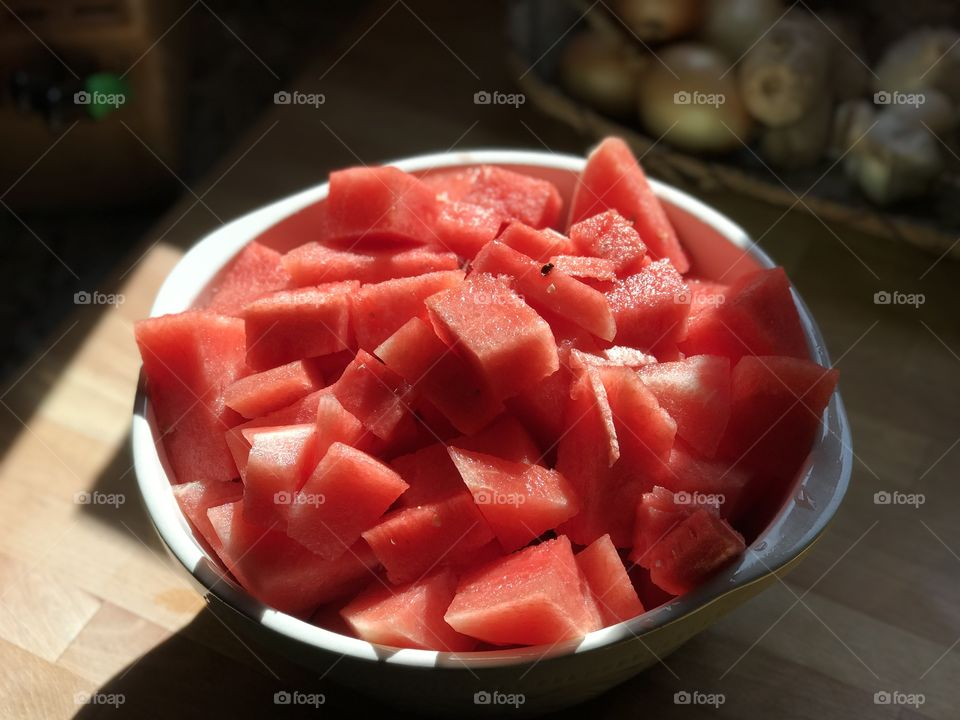 Summer and watermelon