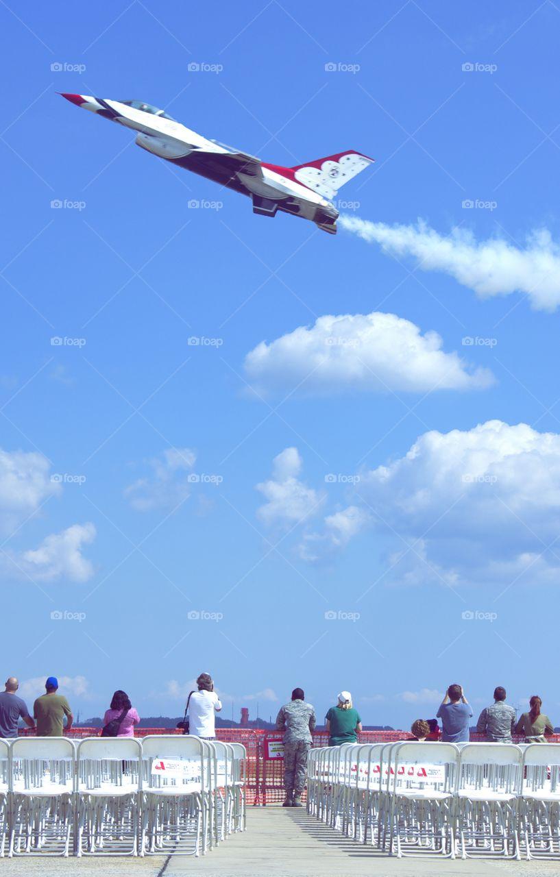 Airshow Fighter Jet
