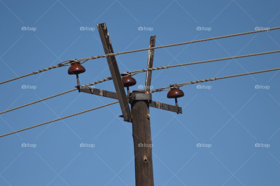Overhead electric lines
