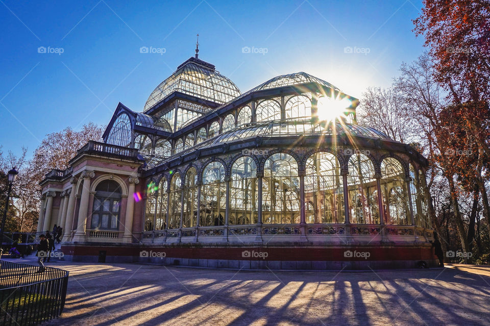 The Crystal Palace, in Madrid's Retiro Park, is a stunner!