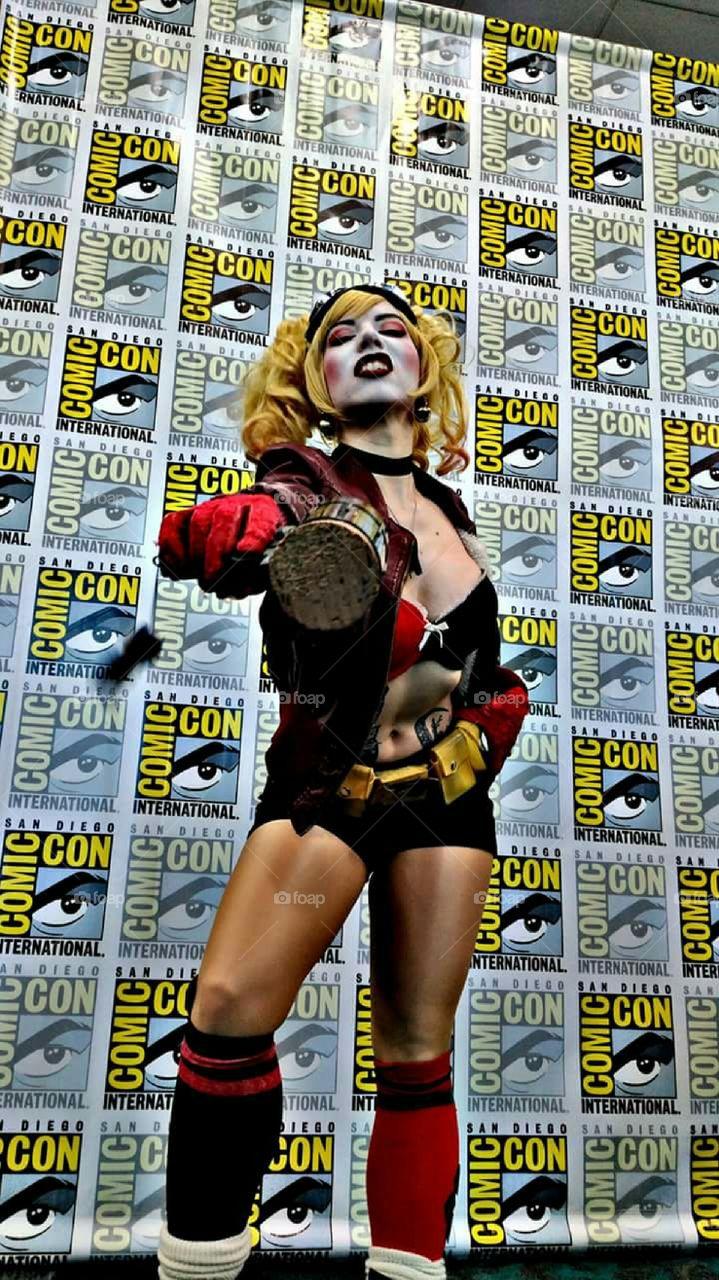 Harley Quinn at Comic-Con!