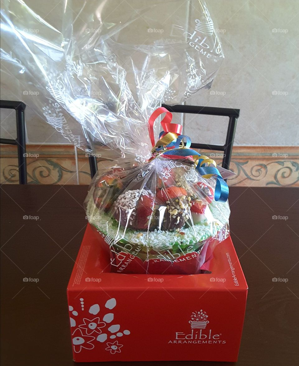 Perfect for any occasion Even on Christmas  Strawberry and Chocolate  gift