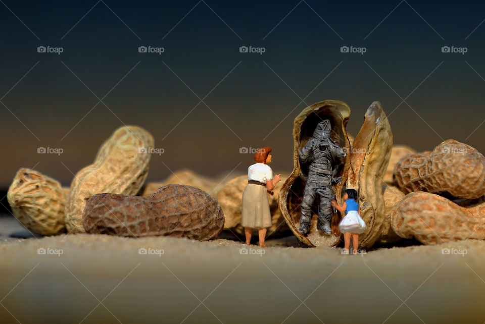 Miniature Figures and the Mummy