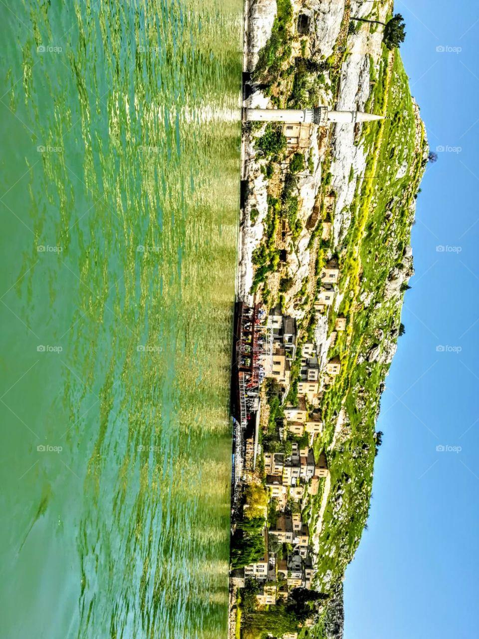a beautiful landscape in Turkey