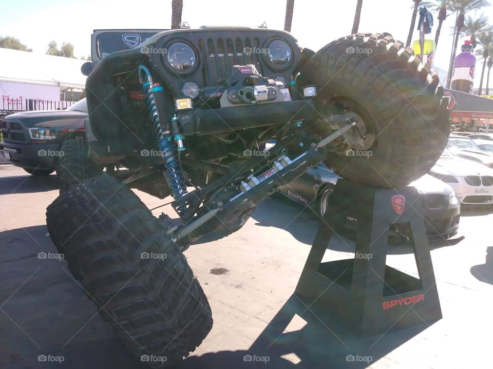 Beautiful Jeep at SEMA