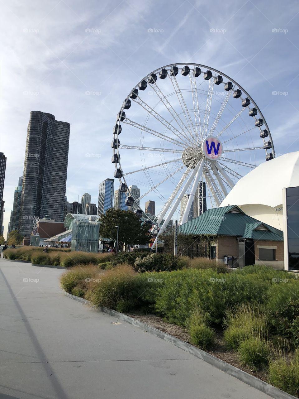 Chicago Pier Ferris wheel