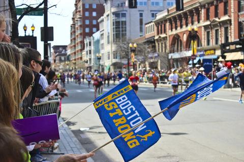 Boston Strong . 2014 Boston Marathon