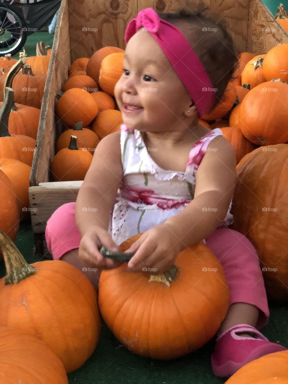 Baby pumpkin 🎃