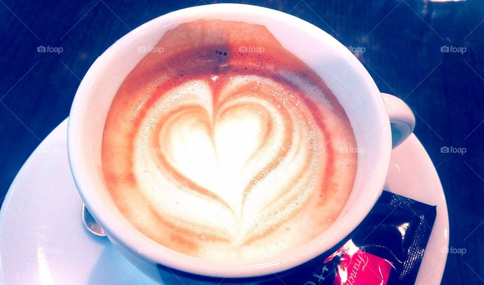 Heart in the Coffee