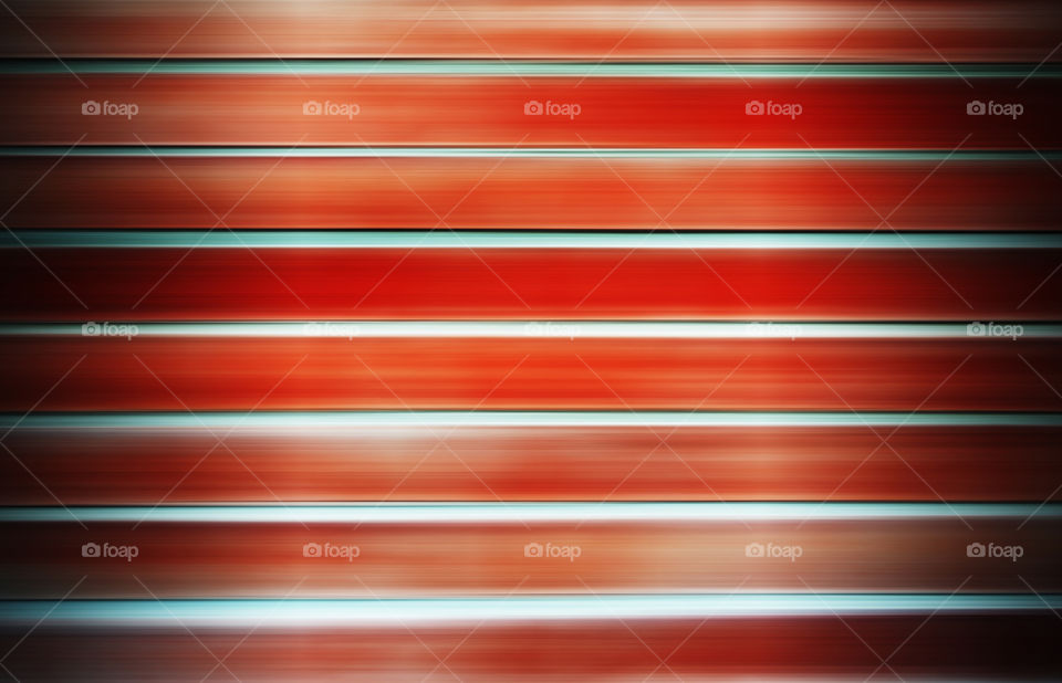 Vivid orange siding abstraction