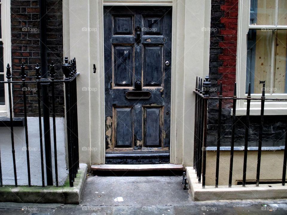 Door, House, Architecture, Window, Doorway