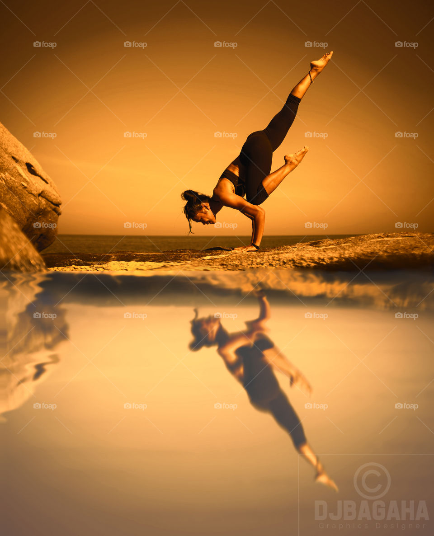 #YogaDay2019 #WaterReflection  #InternationalDayofYoga#effect #manipulation #ps #adobe #photoshop #edits  #GraphicDesign #Design
