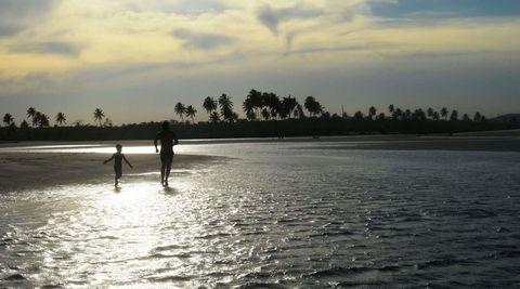 Sun, sea and Joy! Maracaipe beach,  coast of Pernambuco, Brazil.