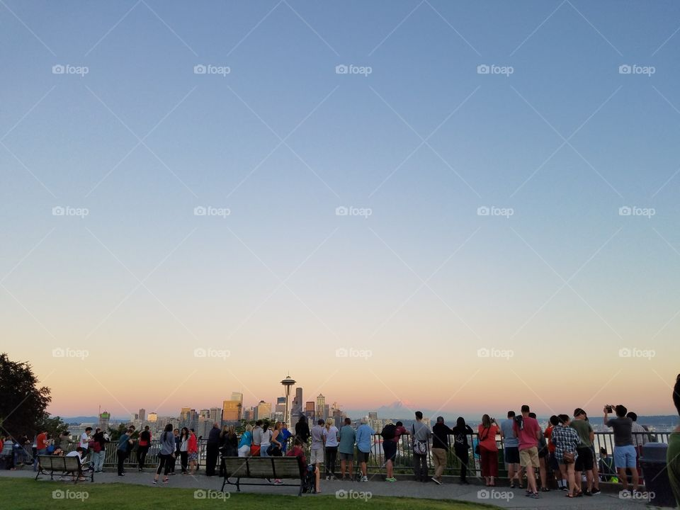 Sky, Sunset, People, Outdoors, Travel