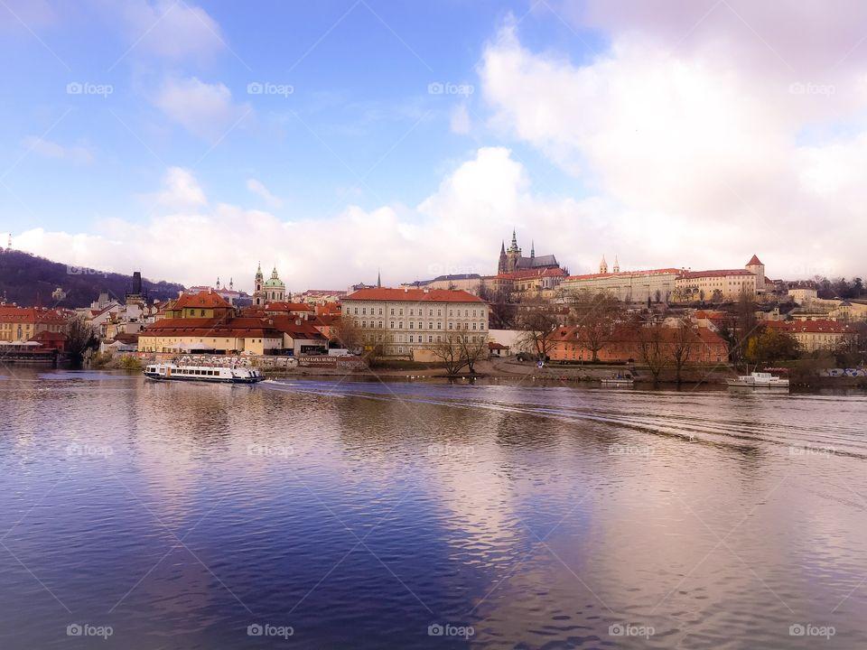 Prague River boat