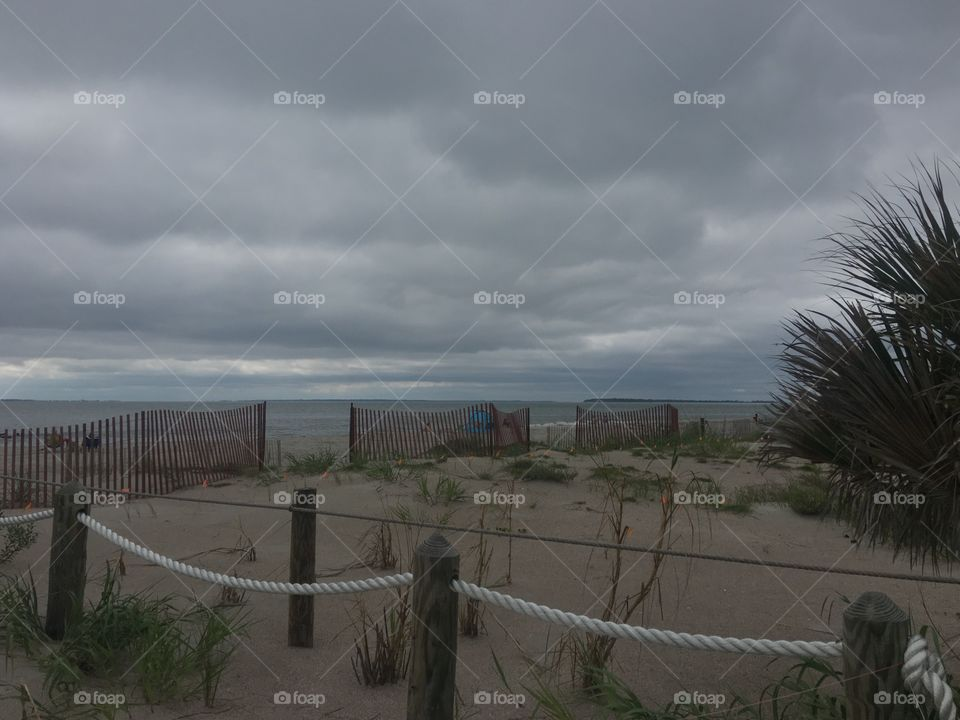 South Carolina Stunning Beach with Fences