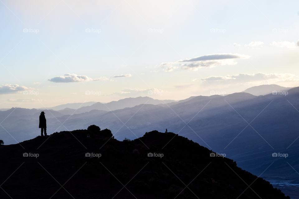 Mountain, Snow, Sunset, Landscape, Dawn