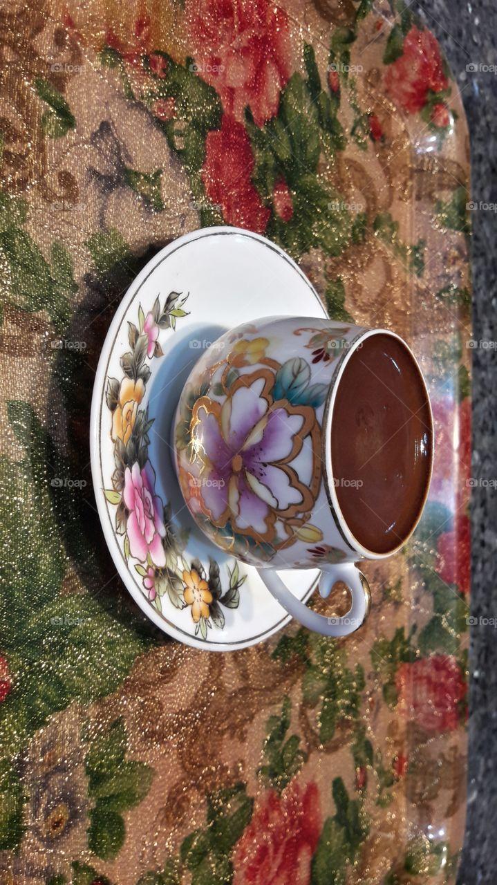 Turkish coffee with nice smell