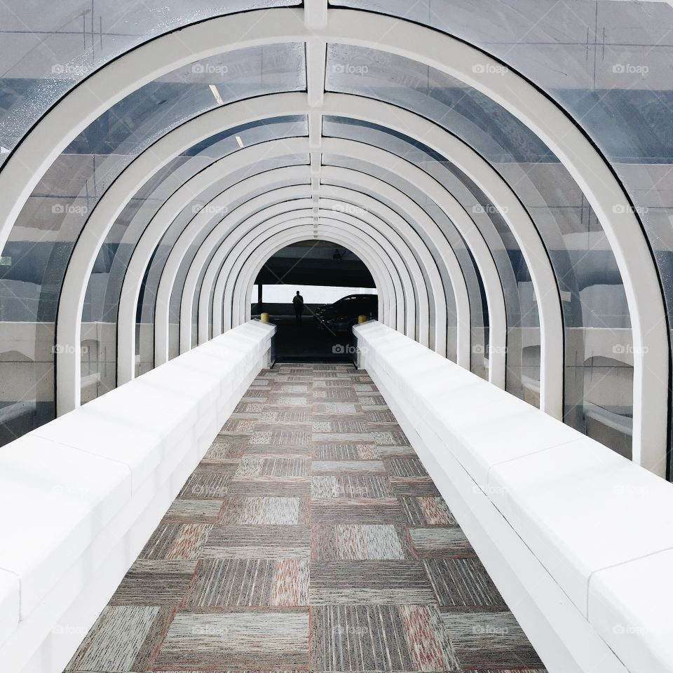 Tunnel, Architecture, Subway System, Passage, Step