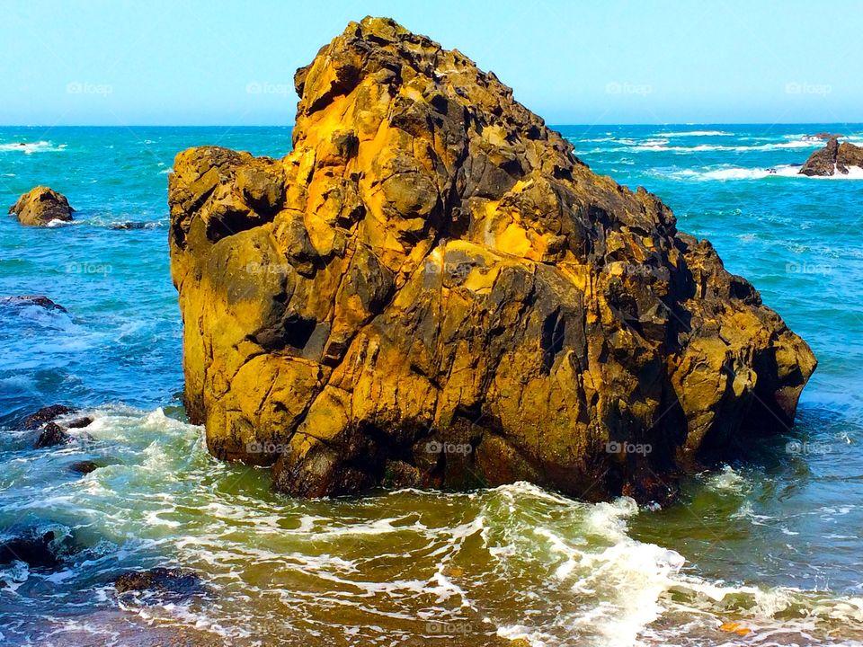 Random rock. Taken off the coast of California