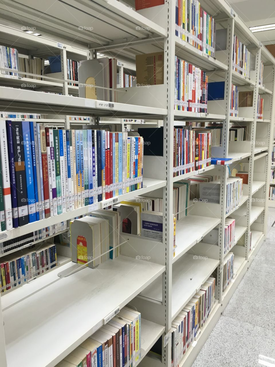 Chinese Books in Shenzhen Library - China