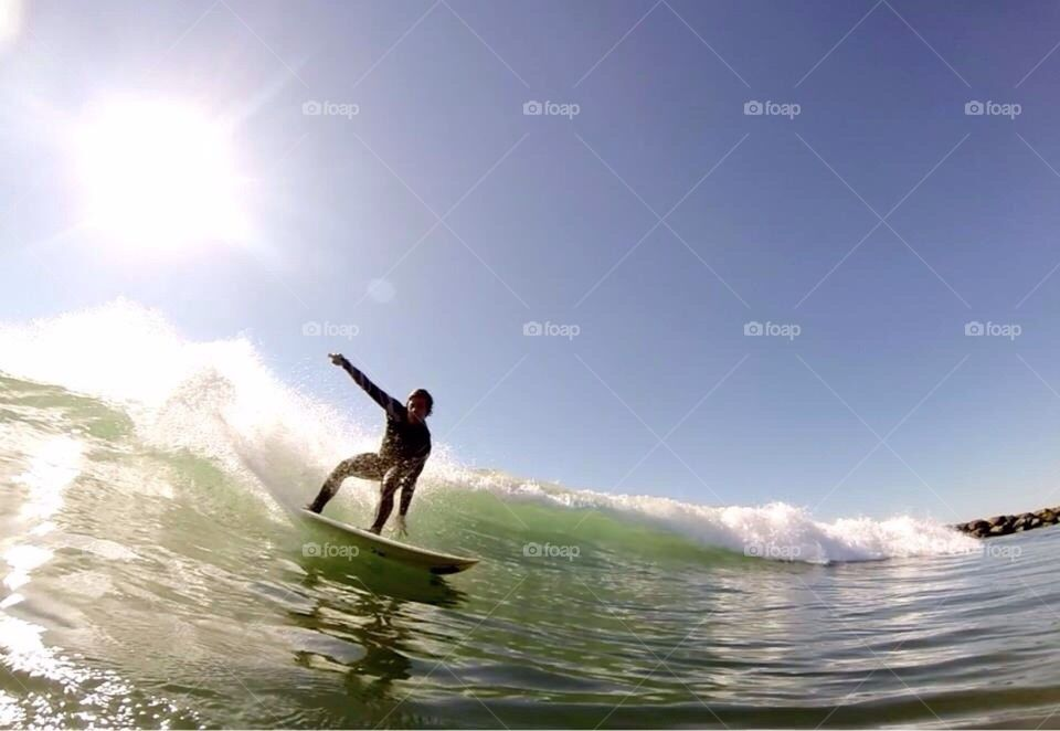 water | surf, action, recreation, surfboarding