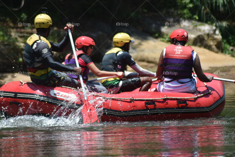 White water rafting memories from summer #Team 39