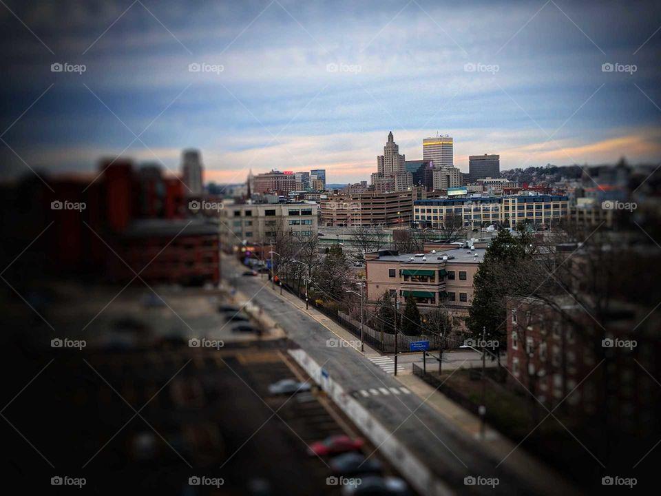 Providence from far