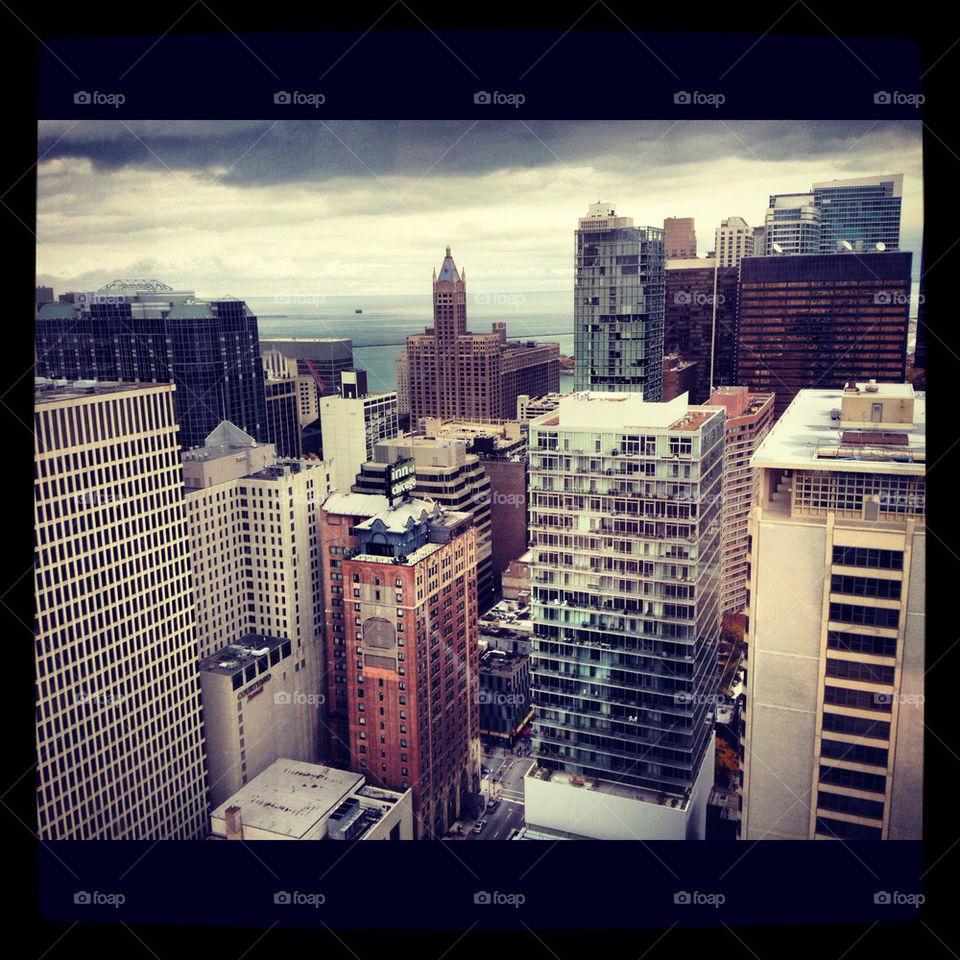 city skyline usa chicago by Glorialeicesterfan