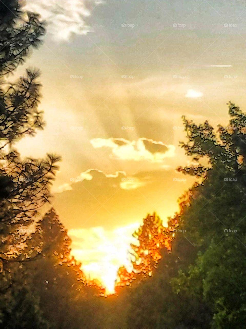 Sunset in Magalia