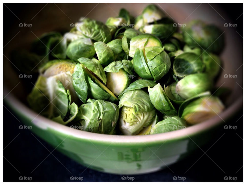 Brussels Sprouts on the menu.