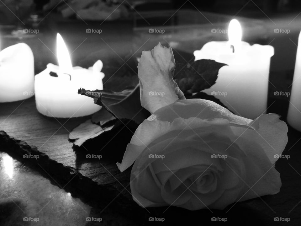 Candle, Wedding, Flower, Flame, Love