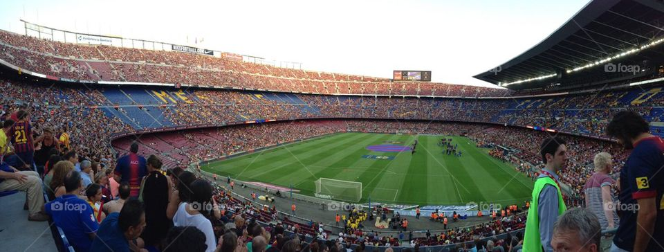 barcelona spain messi camp nou by sers