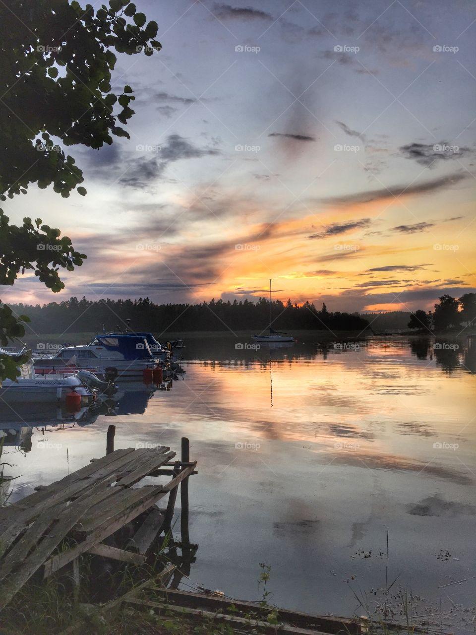 Sunset Västernäs