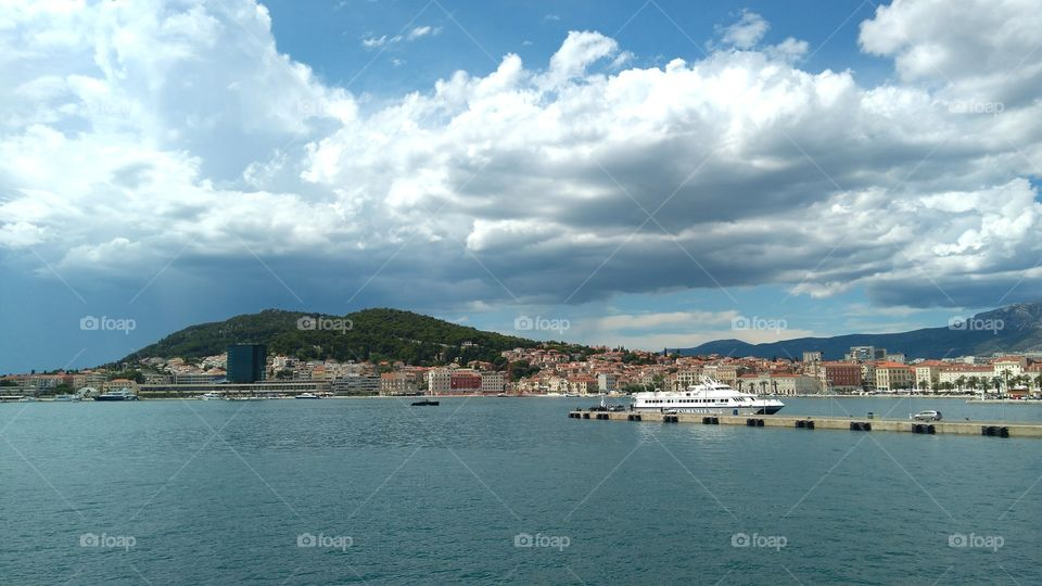 The City of Split_A View from the Ferry