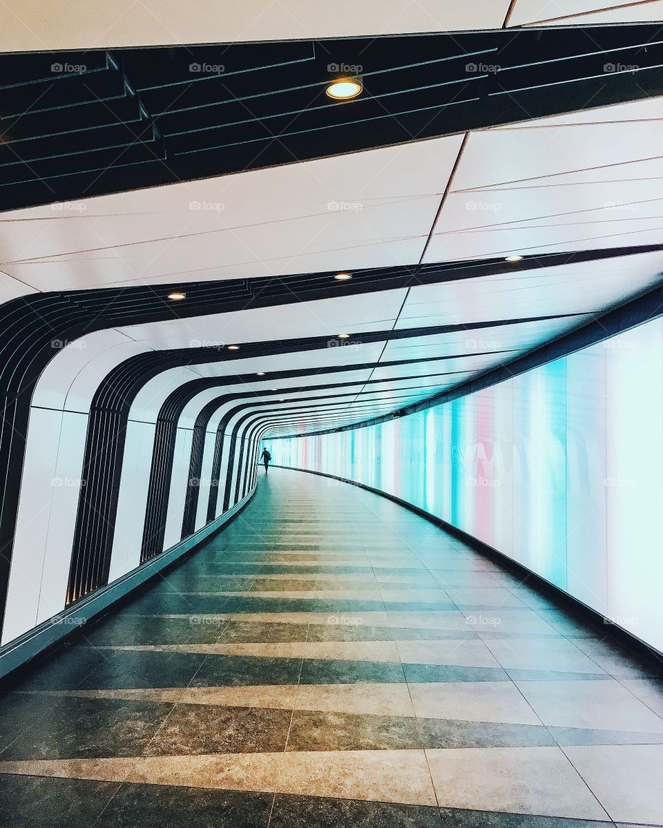 Great tunnel in London