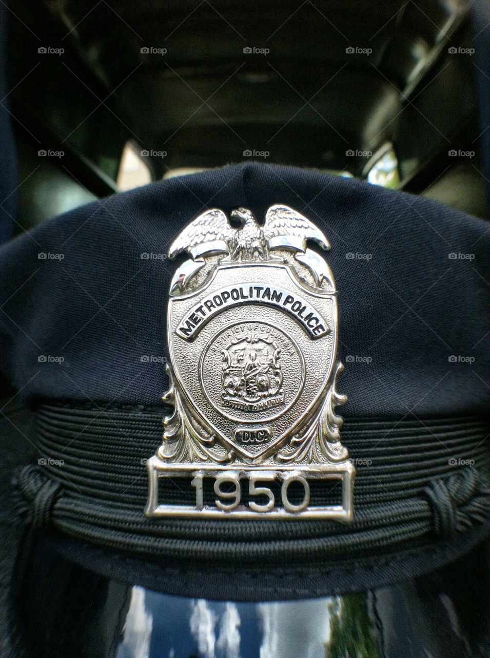 classic antique police badge by chrishorrorshow