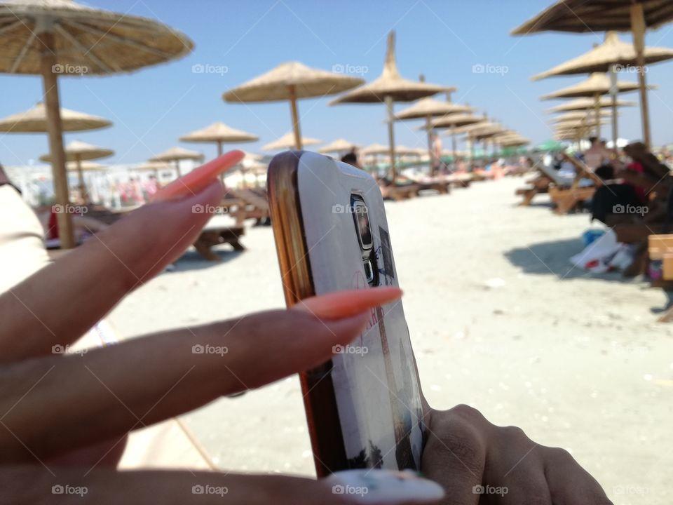 #nails#s5#beach#summer#blacksea#Romania