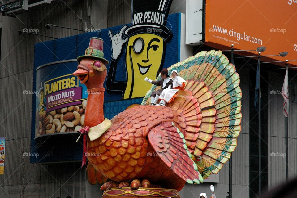 Macy's Thanksgiving Day Parade in NYC