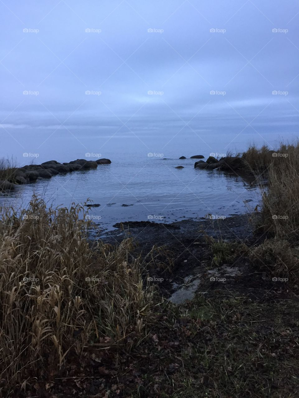 Baltic sea by Kalmarsund