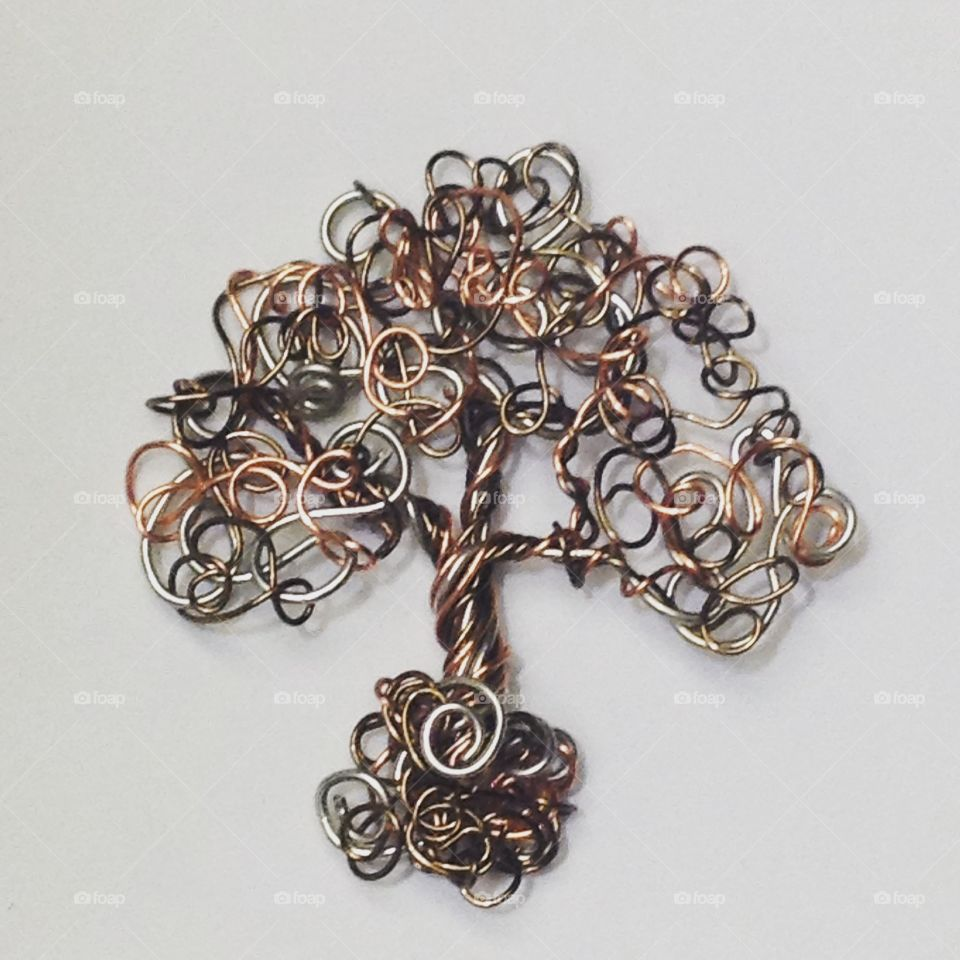 Wire tree I made