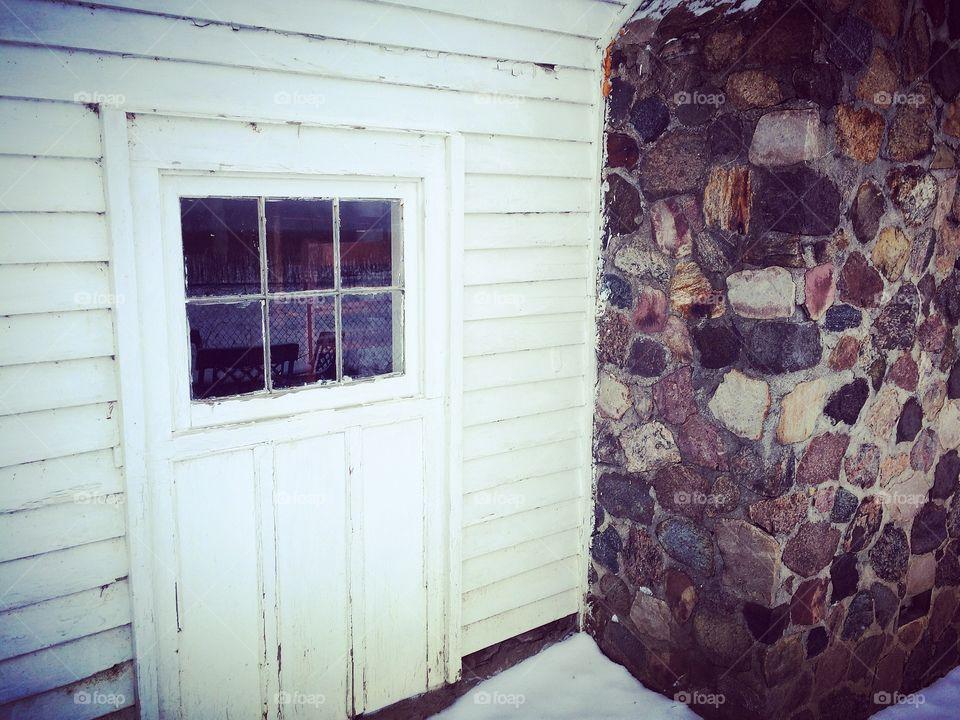 Fieldstone cabin