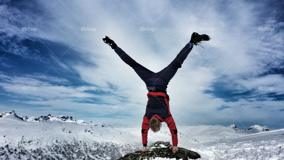 Upside down  | hslysne, peaks, active, winther
