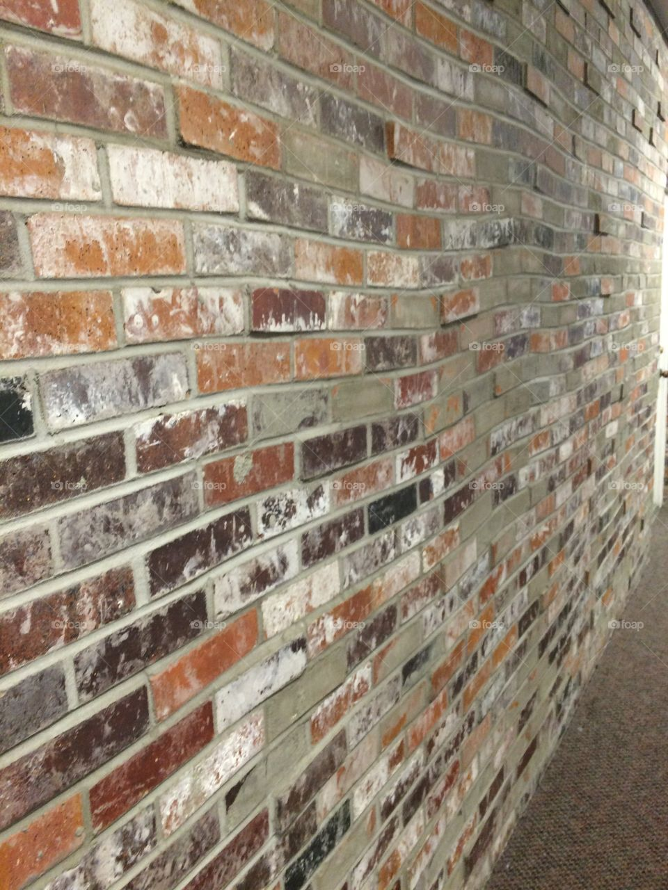 Brick Wall Building Red Rustic