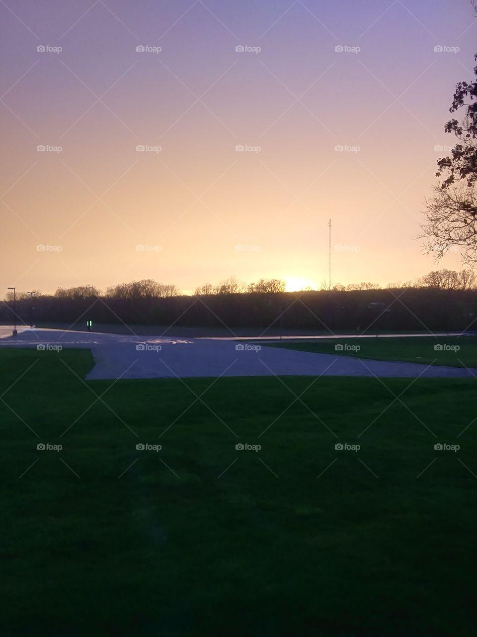 blackford county sunset