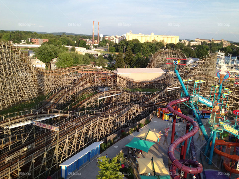 park wooden pennsylvania hershey by walbam