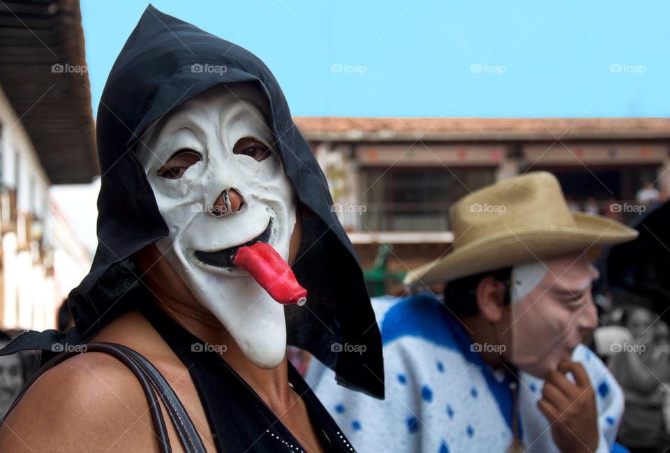 boy mask parade tradition by resnikoffdavid