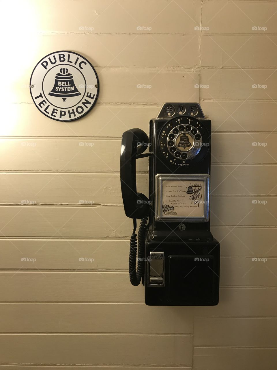 Antique Payphone