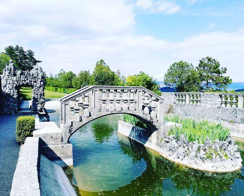 ferarrijev vrt štanjel ,slovenija